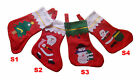 Whole sale Christmas X'mas Party Tree Hanging Santa Stockings Socks