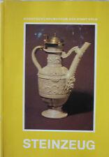 STEINZEUG KUNSTGEWERBEMUSEUM KÖLN 1986 auf 466 Seiten und 52 Tafeln