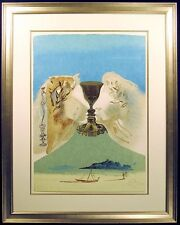 """Salvador Dali """"The Chalice of Love"""" Hand Signed Original Lithograph, Make Offer!"""