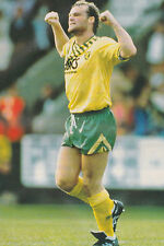 Football Photo>ROBERT FLECK Norwich City 1991-92