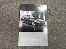 2010 Mercedes Benz E Class Vehicle Reference Guide Manual FACTORY OEM 10