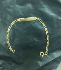 14kt Gold Filled Baby ID Bracelet With Free Engraving