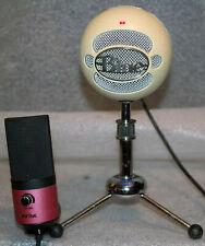 2 USB Microphones Blue Snowball Fifine K669B Cardioid Condenser MICS