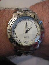- Heavy Case - Tub Sc-6 Vintage Captain Gmt Watch - White Face