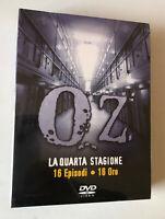BOX DVD COFANETTO  SERIE TV OZ QUARTA STAGIONE 4 COMPLETA SIGILLATO PRIGIONE
