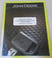 John Deere OMW51850 200X and 200CX Loaders Issue H5 OEM Service Repair Manual