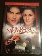 FINDING NEVERLAND Johnny Depp New Unsealed DVD R1 NTSC