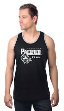 Pacifico Mexican Beer Drinking Workout Active gym soft Tank Top S-2XL