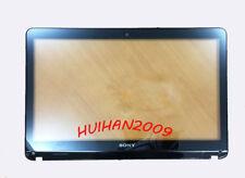 NEW Sony VAIO SVF154B1EL SVF153B1YL Touchscreen Digitizer glass+bezel