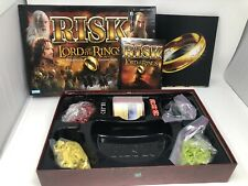 Risk Lord of the Rings The Middle Earth Conquest Board Game Used