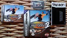 Tony Hawk's Pro Skater 2 Nintendo Game Boy Advance GBA CIB Complete Manual Slips