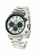 ORIENT Chronogragh Neo70's WV0041TX Solar Panda Men's Watch New in Box