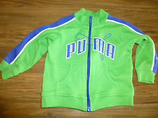 PUMA  Zip Up TRACK JACKET GREEN & Blue Sz 6-9 mo. Boy's EUC!