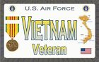 """Air Force - VN - Magnetic Sign - 6"""" L X 3.75"""" H - Outdoor"""