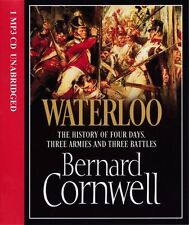 Bernard CORNWELL / WATERLOO: History of 4 Days, 3 Armies & 3 Battles [ Audio ]