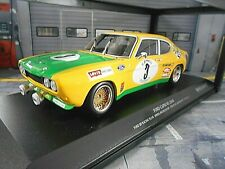 FORD Capri RS 2600 RS2600 MKI 24h Spa 1972 #3 Birrel Bourgoinie Minichamps 1:18