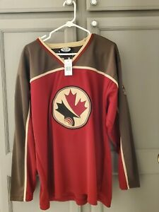 Niagara Falls Collection/ Canada Hockey Jersey Logo Patches Size XL NWT