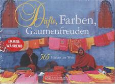 Düfte Farben Gaumenfreuden 365 Märkte der Welt immerwährender Tischkalender NEU