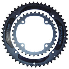 New* Praxis X Spider Levatime Forged 50/34 Compact Chainring Set Black 160/104