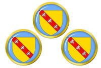 Lorraine (France) Marqueurs de Balles de Golf