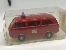 Wiking HO 1/87 Volkswagen T3 Fire Engine in Presentation Box