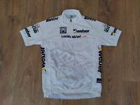 La Gazzetta Dello Sport Giro dItalia SMS Santini white cycling jersey size M