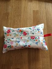 """Handmade baby/wet wipes holder case in Cath kidston """"floral """" Fabric"""