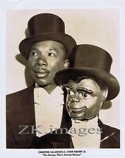 VENTRILOQUE DUMMY Afro US Marionnette CALHOUN Photo 40s