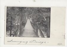 Swinging Bridge Proctor Vermont 1905 U/B Postcard USA 512a