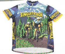 PRIMAL Singletrack Copper Ale Men's Cycling Jersey Bike Short Sleeve Shirt XL