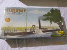 Lindberg LND 1 96 Fulton's Clermont Paddle Wheel Steamship HL200 Lnd200