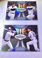 YANKEES 2019 Topps CHROME  Greatness Returns LOT Jackson/Stanton Young/YelichMT