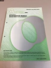 Makino A-Series Maintenance Manual