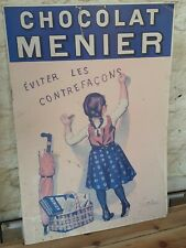 French Vintage Poster 'Chocolat a Menier'