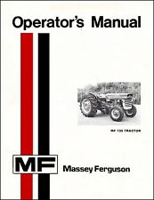 Massey Ferguson MF 135 Tractor Manual 1969 MF 150 165 410 420 3000 3100 MF 565 b