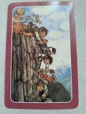 playing cards swap,One card, Trolls  falling down cliff.