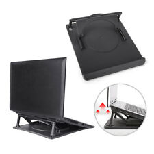 Laptop Holder Cooling360°Rotation Stand Mount Notebook Table Desk Swivel Tray JC