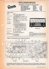 Service Manual Graetz Melodia 1118,Grazioso 411 18,Moderato 611 18,Scerzo 711 18