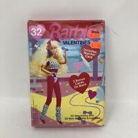 Vintage Barbie 1992 Valentines Day Cards Gibson Mattel Unopened Package NOS Rare