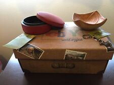 Fair trade handmade sugar box bowl dish key chain World of Good by eBay charity