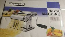 New ListingPasta Maker Machine Elegant Life Noodle Cutter 304 Stainless Steel Manually
