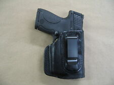 SCCY 9mm With Laser IWB Leather In Waistband Conceal Carry Holster BLK RH