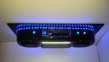 Universal Radio Golf Cart Overhead Stereo Console with BLUETOOTH UTV RZR EZ GO