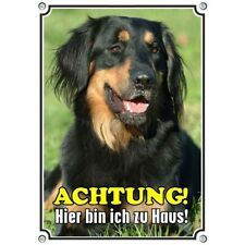 Dog Sign - Hovawart - Sturdy Metal without Rust And Resistant