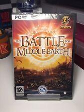El Señor de los anillos la batalla por la tierra media PC-DVD (Nuevo y Sellado)