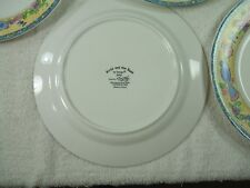4 SANGO~DINNER PLATES BIRDS AND BEES~ Zipkin~3042 11 inch Plates