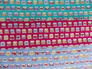 Camper Van 100% Cotton Poplin Fabric Rose & Hubble