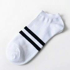 5 Colors Men's Sports Socks Lot Crew Short Ankle Low Cut Casual Cotton Socks