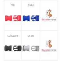 Steckschnallen Gurtschnalle Steckschließer 30mm *4 Farben* 1St., 5 St., 10St.