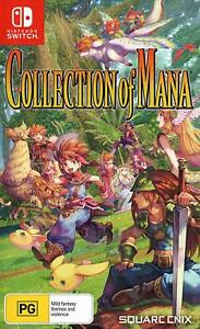 Collection Of Mana Nintendo Switch Game Trilogy Mystic Quest Secret Trials Mana